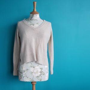 J. Crew Merino Wool Sweater Cream XS